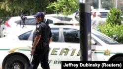 Foto: Mesto napada na policiju u Luizijani