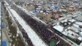 Митинг в Котласе против полигона в поселке Шиес, Архангельской области