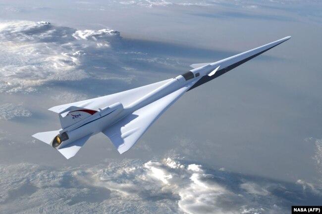 یک هواپیمای آزمایشی ناسا از سال ۲۰۱۸