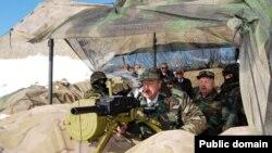 Prezidentlər silahla- FOTOLAR