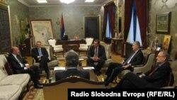 Sastanak šest lidera političkih stranaka u Banja Luci, 9. mart 2012.