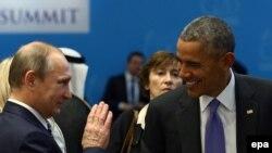 Barack Obama və Vladimir Putin