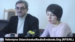 Ректор НУВГП Василь Гурін і голова студради Оксана Соколюк: «Допомоги просили, а не вимагали»