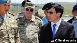 Адильбек Джаксыбеков, министр обороны Казахстана.