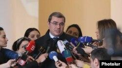 Председатель Комитета государственных доходов Давид Ананян, Ереван, 29 марта 2019 г.