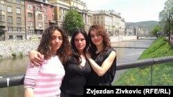 S lijeva na desno: Ira Skopljak, Marija Ličina i Nelisa Baždar