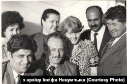 Зьлева Абдула Зухур і жонка Пары за ім, Іосіф Адамавіч і Роза Ягораўна справа