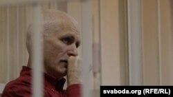 Белоруссиялик ҳуқуқ фаоли Алес Беляцкий.