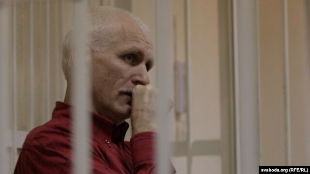 Ales Byalyatski in court in 2011