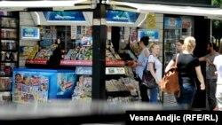 Kiosk, ilustrativna fotografija