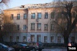 Донецкая больница после обстрела, февраль 2015 года