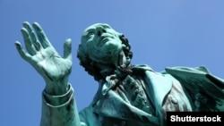 Hans Anderseniň heýkeli