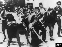 Gavrilo Princip həbc edilir, 28 iyun, 1914