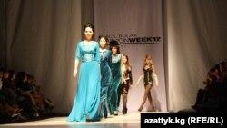 Бишкекте өткөн мода жумалыгы. 2012-жыл.