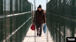 На административной границе с аннексированным Крымом. Архивное фото