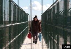 Украина-Кырым чиге, Джанкой капкасы, Русия ягы
