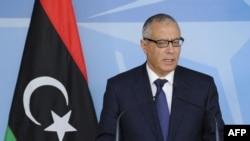 Ливия премьер-министрі Әли Зейдан.