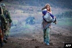 "Русия Грузия белән сугышны үзенчә аңлаткан ""8 август"" исемле фильм чыгарды. Актриса Светлана Иванова"