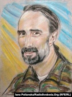 Портрет Юрия Вербицкого работы художницы Марины Соченко