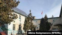 Бишкектеги мэрияга караштуу Балдарды жана жаштарды реабилитациялоо борборунун имараты.