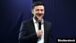 Володимир Зеленський, кандидат у президенти