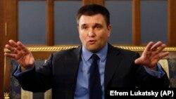 Клімкін очолює Міністерство закордонних справ України з 19 червня 2014 року