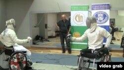 Pamje nga garat e paralimpikëve