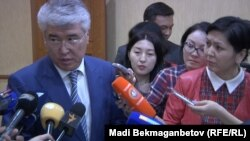 Министр Мухамедиулы о кыргызских мигрантах