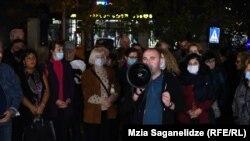 Акция в поддержку Ивери Мелашвили