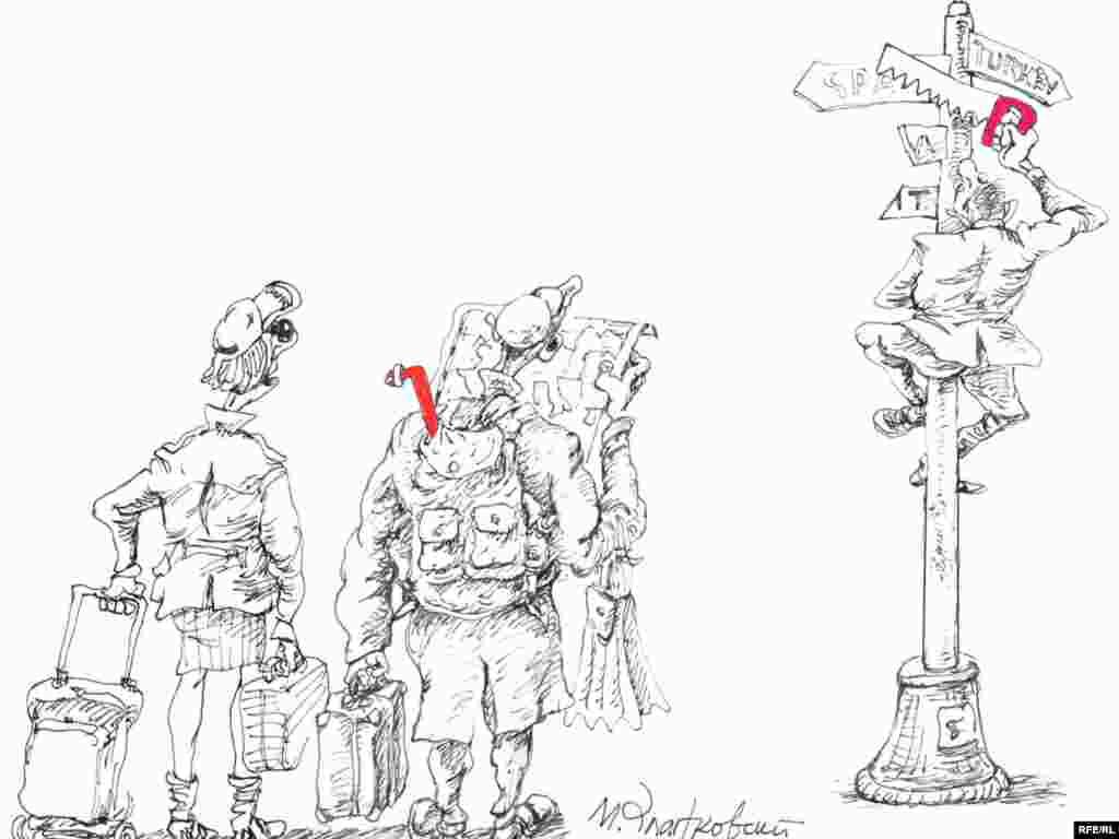 """Время не ходить на работу. Михаил Златковский. """"Из заслуженного"""". Художник разделил отпускные трудности этого сезона с большинством населения"""