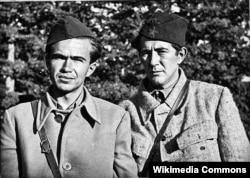 'U drugoj Jugoslaviji imamo sporenje u političkoj eliti od 1943. godine, kada je Ivo Lola Ribar (na fotografiji sa Milovanom Đilasomo) ptužio Slovence za separatizam.'