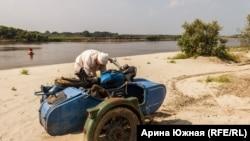 Садыков и его мотоцикл