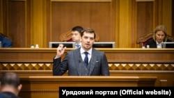Украина бош вазири Олексий Гончарук