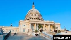 Pamje e ndërtesës së Kongresit të Shteteve të Bashkuara në Uashington