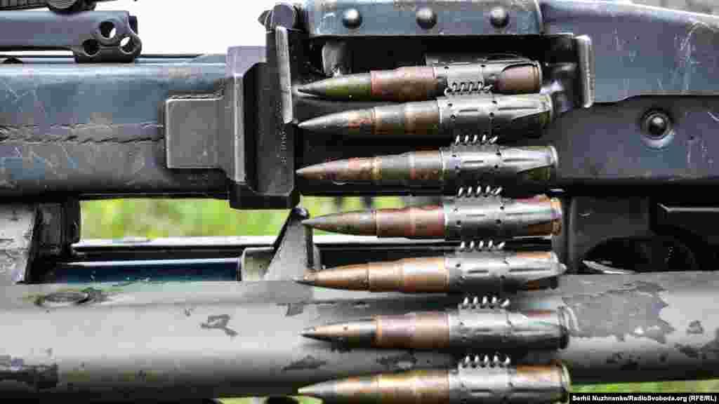 Набої у кулеметі німецької армії MG-42