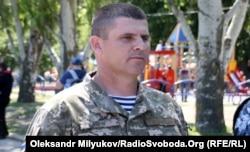 Командир 36-ї окремої бригади морської піхоти, полковник Андрій Гнатов. Місто Миколаїв, 23 травня 2018 року
