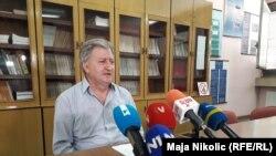 Sead Ahmetašević, načelnik Klinike za infektivne bolesti UKC Tuzla