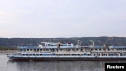 "Russian President Dmitry Medvedev has described Soviet-era cruise ships like the ill-fated ""Bulgaria"" as ""rusty old tubs."""