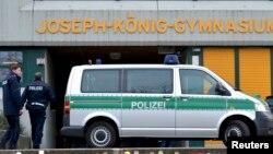Полицейские в Германии. Иллюстративное фото.