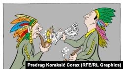 Caricatură de Predrag Koraksic