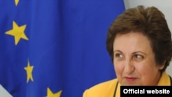 Shirin Ebadi in Brussels on June 23