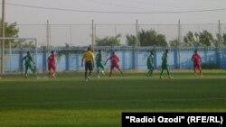 Tajikistan,Dushanbe city, a competation between 1th Division teams of Tajikistan,10June2013
