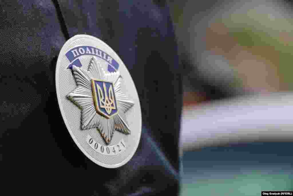 Металевий значок – обов'язковий атрибут кожного поліцейського