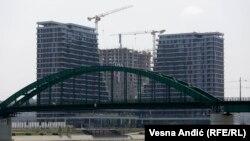 Gradilište naselja Beograd na vodi