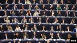 Pamje nga seanca e djeshme e Parlamentit Evropian në Strasburg
