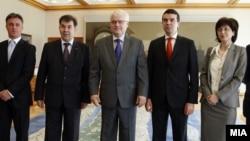 Средба на министерот Попоски со претседателот на Хрватска Иво Јосиповиќ во Загреб