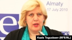 The OSCE;s representative on media freedom Dunja Mijatovic