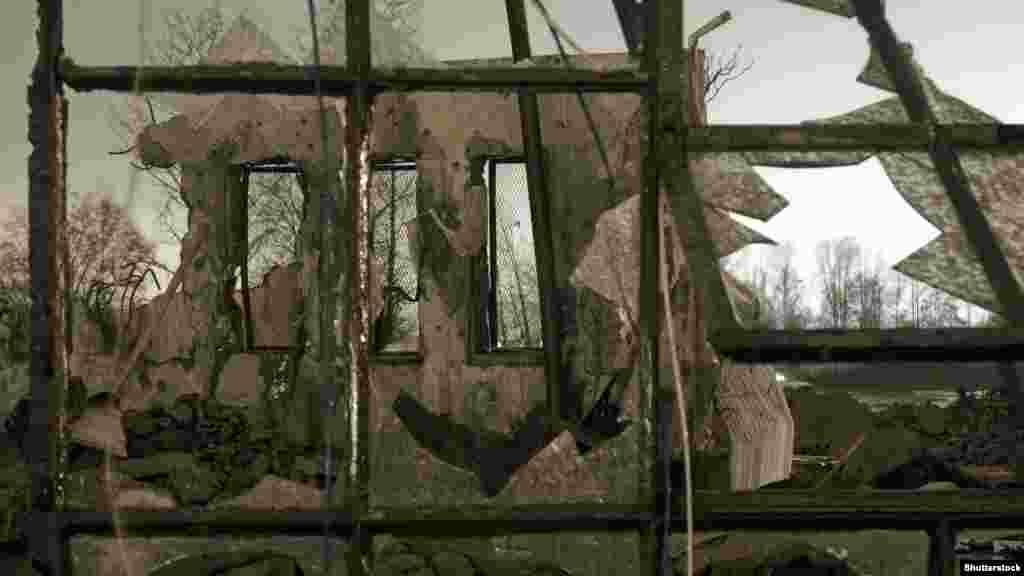 Чернобыль аймағы, Украина. Мұрағаттағы сурет.