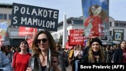 Marš za ravnopravnost polova u Podgorici, ilustrativna fotografija