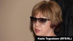 Adam bol журналының бас редакторы Гүлжан Ерғалиева. Алматы, 24 желтоқсан 2014 жыл.